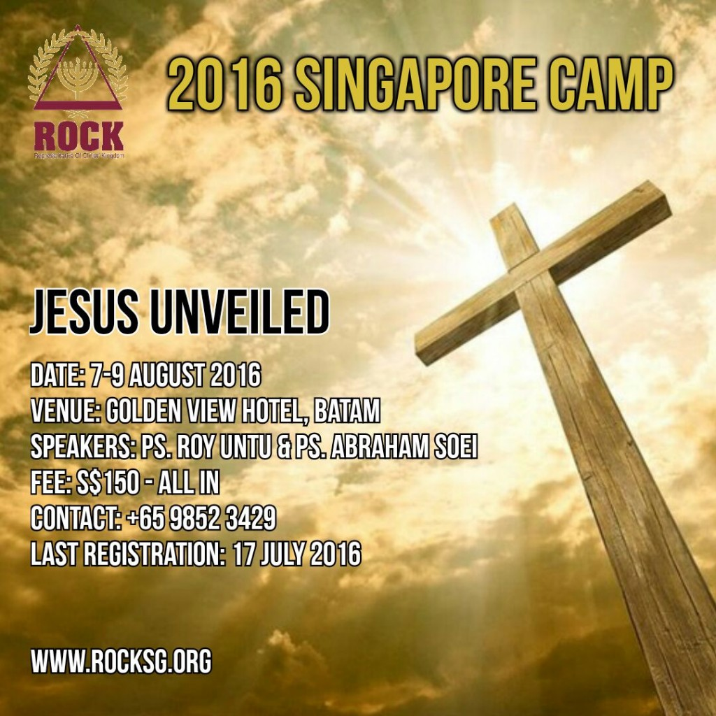 2016 ROCK Singapore Camp Jesus Unveiled